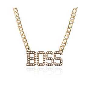 Boss Pendant Necklace  Mens Necklaces