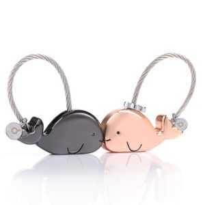 Whale Couple Keychain 🐳 Cute Couple Keychains  Couple Keychain