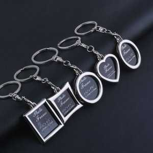 Keychain Photo Frame – Mini Picture Photo Keyrings  Personalized Keychains